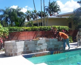 Landscape Pool in Coral Gables