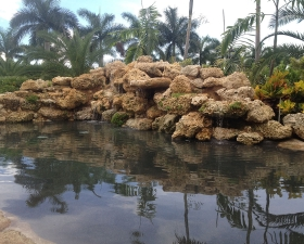 custom waterfalls by Anderson Landscaping