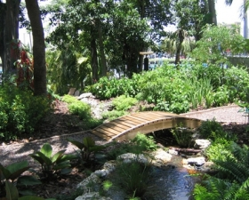 Outdoor Landscape Lighting in Coral Gables
