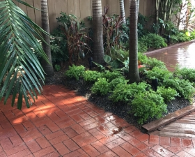 Pavers Landscaping Design in Miami Beach
