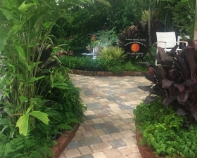 Landscape Paver Installation in Palmetto Bay
