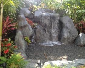 Waterfall Installation in Miami Beach