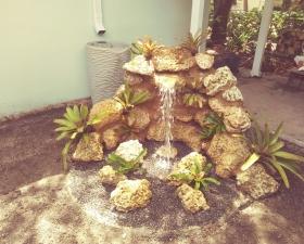 Landscape Design for Coconut Grove Water Feature 2