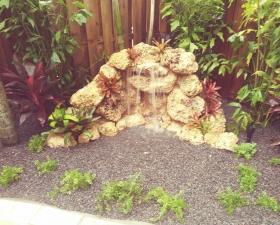 Landscape Design for Coconut Grove Water Feature 1