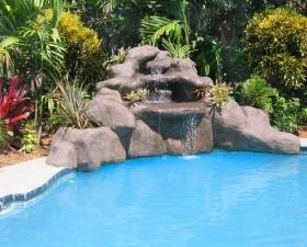 Custom Waterfalls for Pools