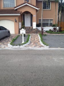 Landscape Paver Installation in Miami, Coral Gables, Palmetto Bay