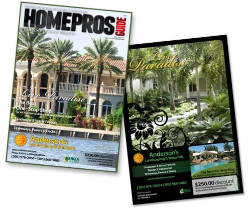Landscape Design in Miami, FL Magazines