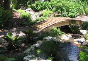Backyard Landscape Design in Miami for Landscape Lighting
