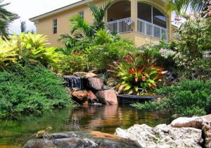 Landscape Pool in Pinecrest, Miami, Key Biscayne